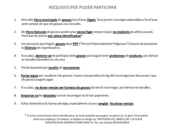 Requisits